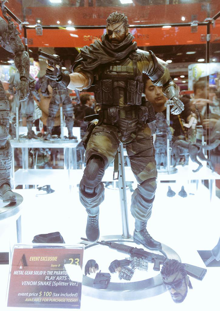 SDCC-Venom-Snake-Splitter-Version