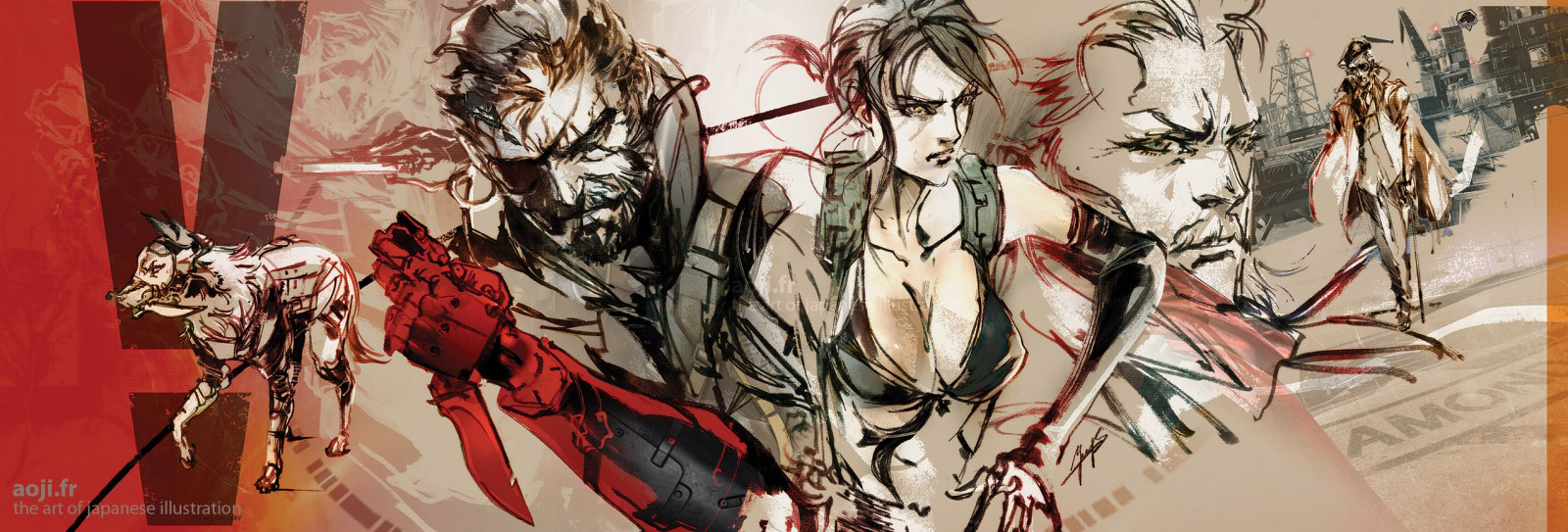 Diamond-Dogs-Shinkawa-Art-of-Japanese-Illustration