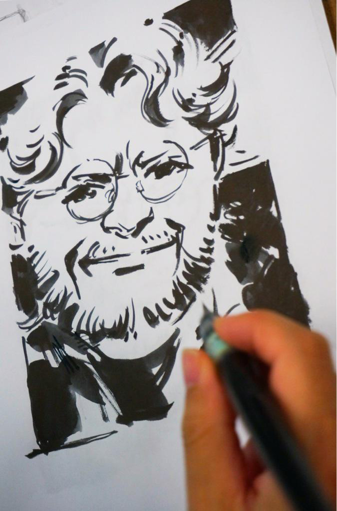 Guillermo-del-Toro-by-Yoji-Shinkawa
