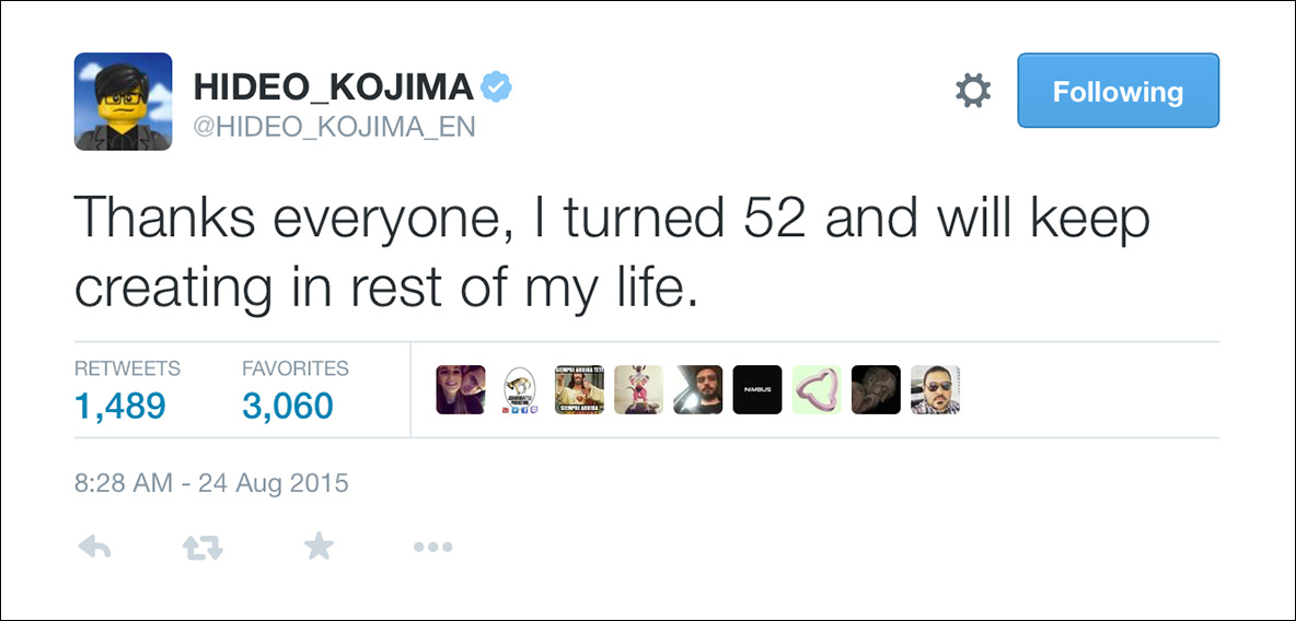 Hideo-Kojima-Tweet-52nd-Birthday