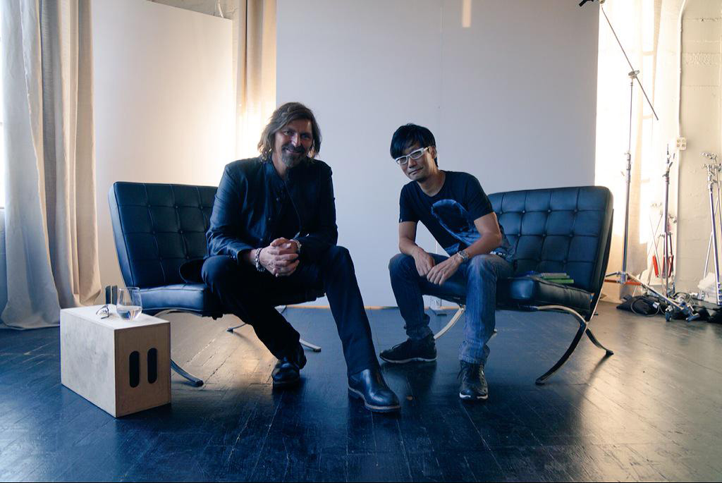 Hideo-Kojima-and-Robin-Atkin-Downes