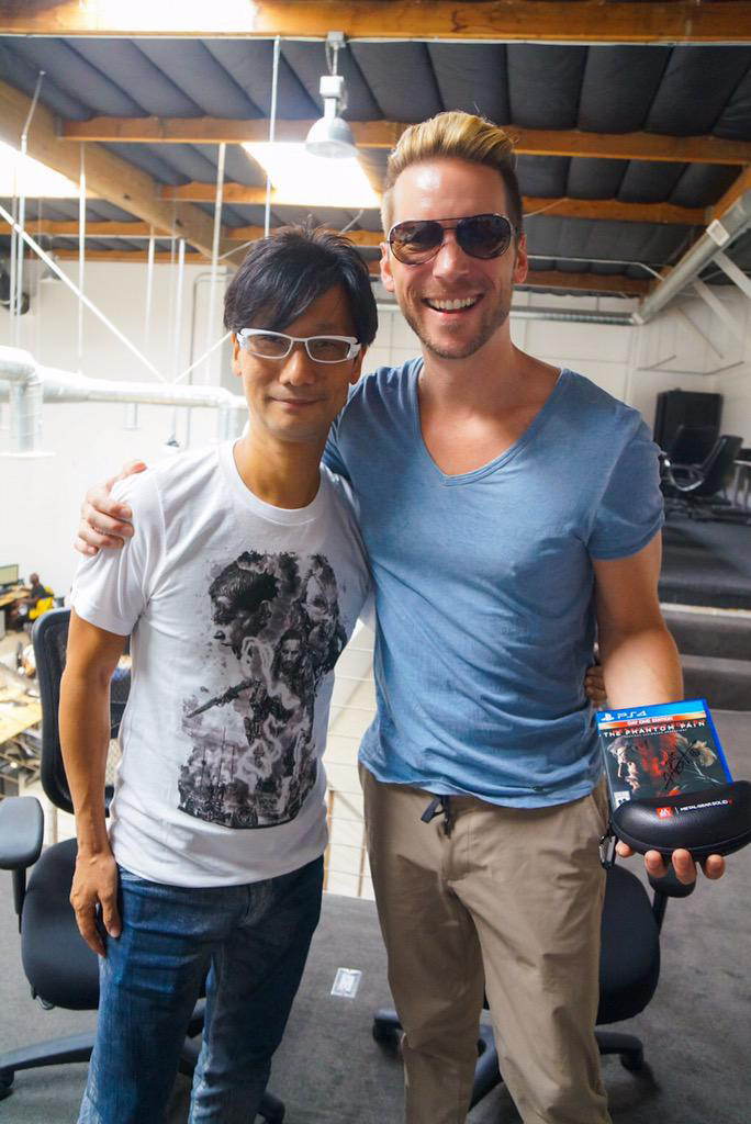 Hideo-Kojima-and-Troy-Baker