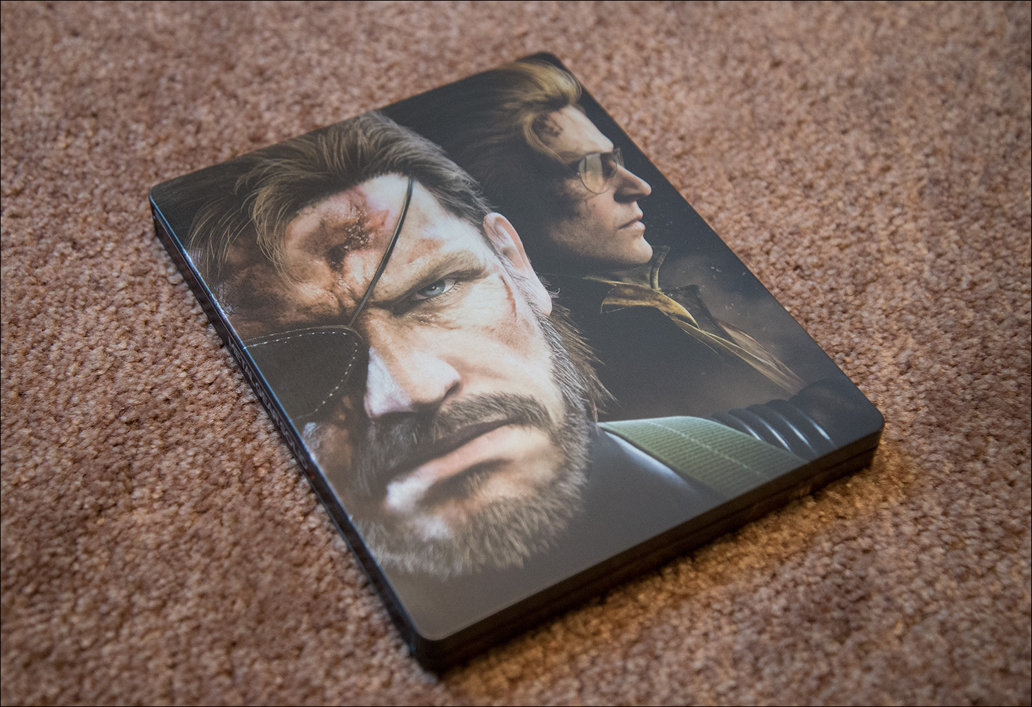 Close Up Metal Gear Solid V The Phantom Pain Collectors Edition
