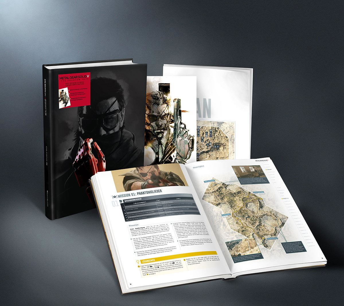 Metal-Gear-Solid-V-The-Phantom-Pain-Piggyback-Collector's-Guide-Contents