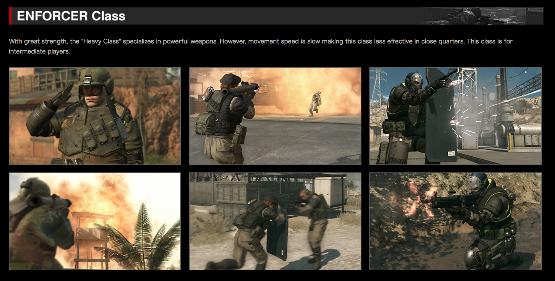 MGO-Classes-Enforcer-Class