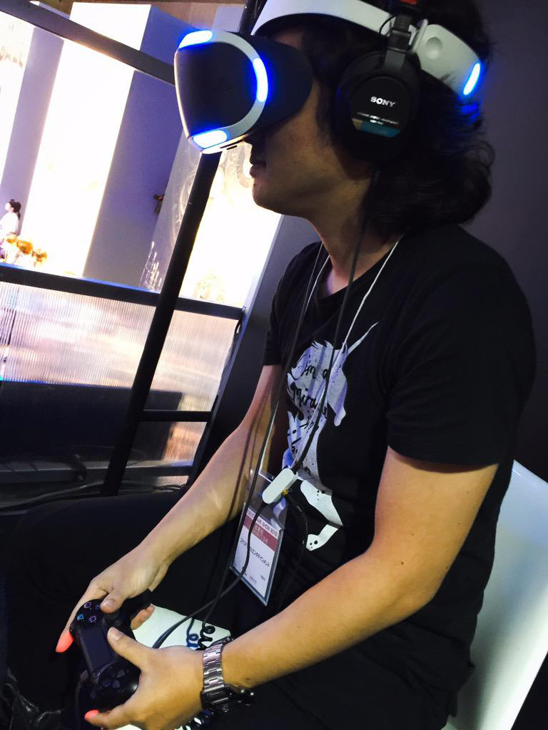 TGS-2015-Yoji-Shinkawa-PlayStation-VR