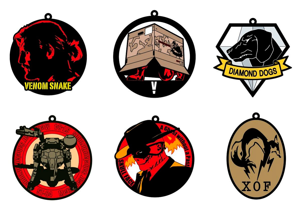 MGSV-Rubber-Keychain-Collection