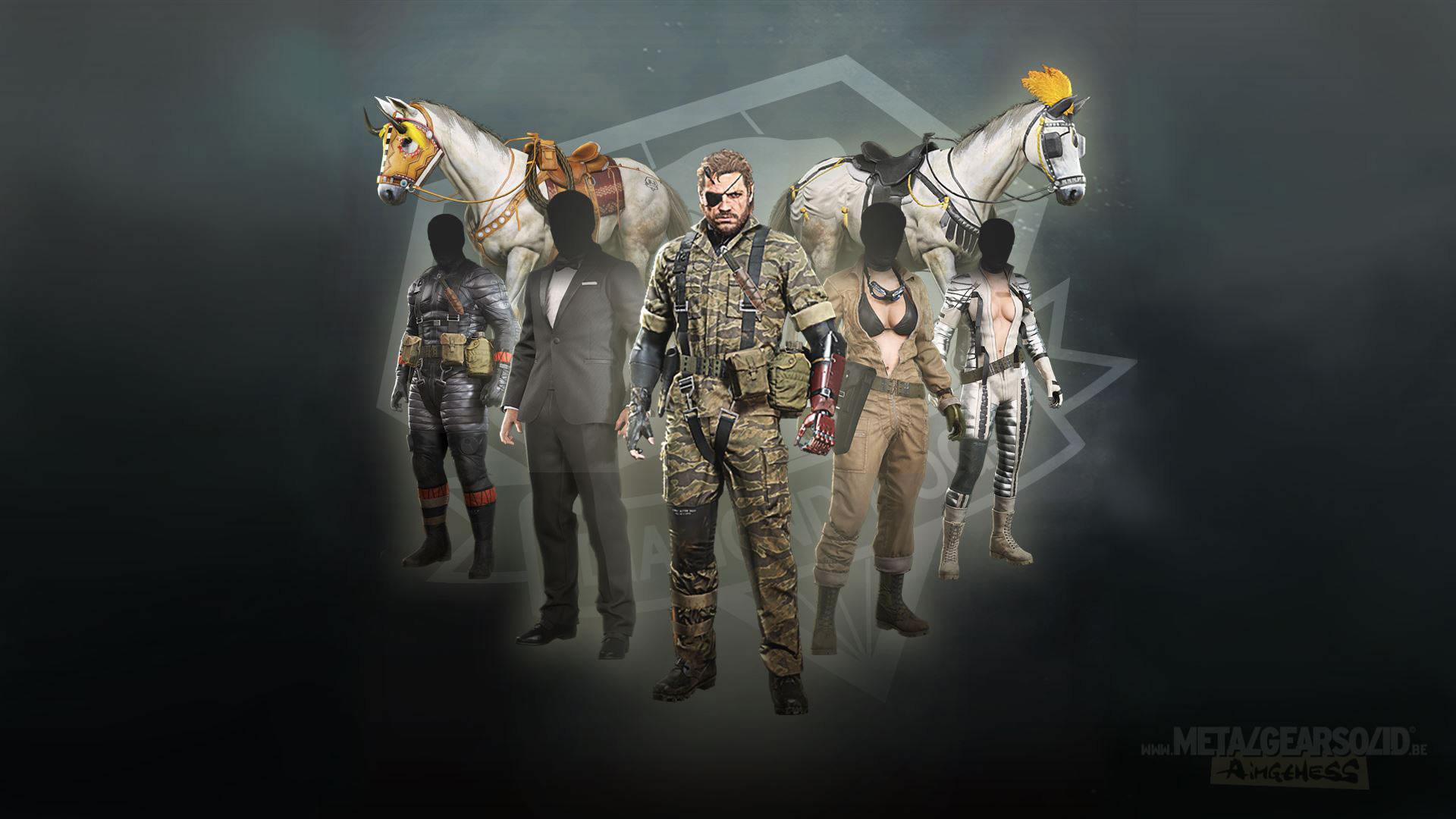 Costume DLC for Metal Gear Solid V: The Phantom Pain