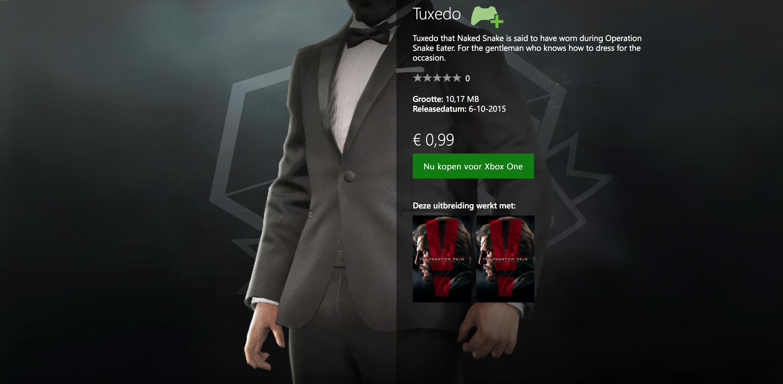 MGSV-TPP-DLC-Tuxedo-Xbox-Store