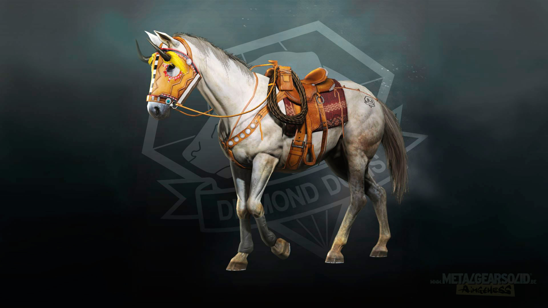 MGSV-The-Phantom-Pain-DLC-Horse-Western