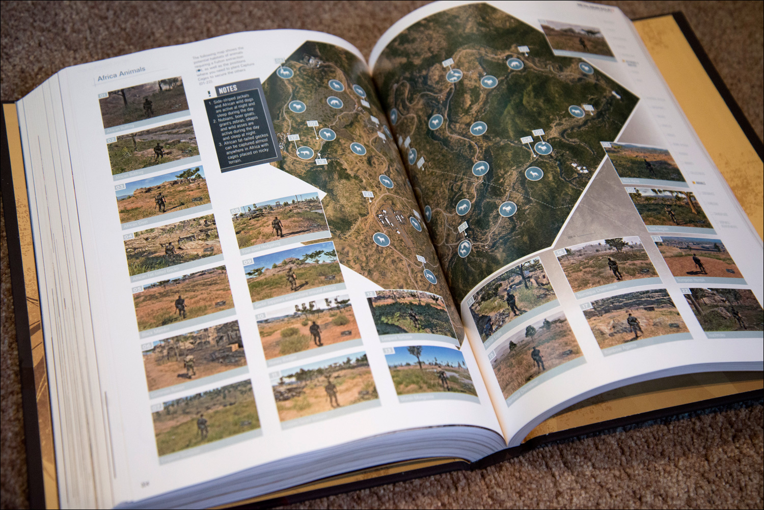 Metal-Gear-Solid-V-The-Phantom-Pain-Collector's-Edition-Guide-Animal-Locations
