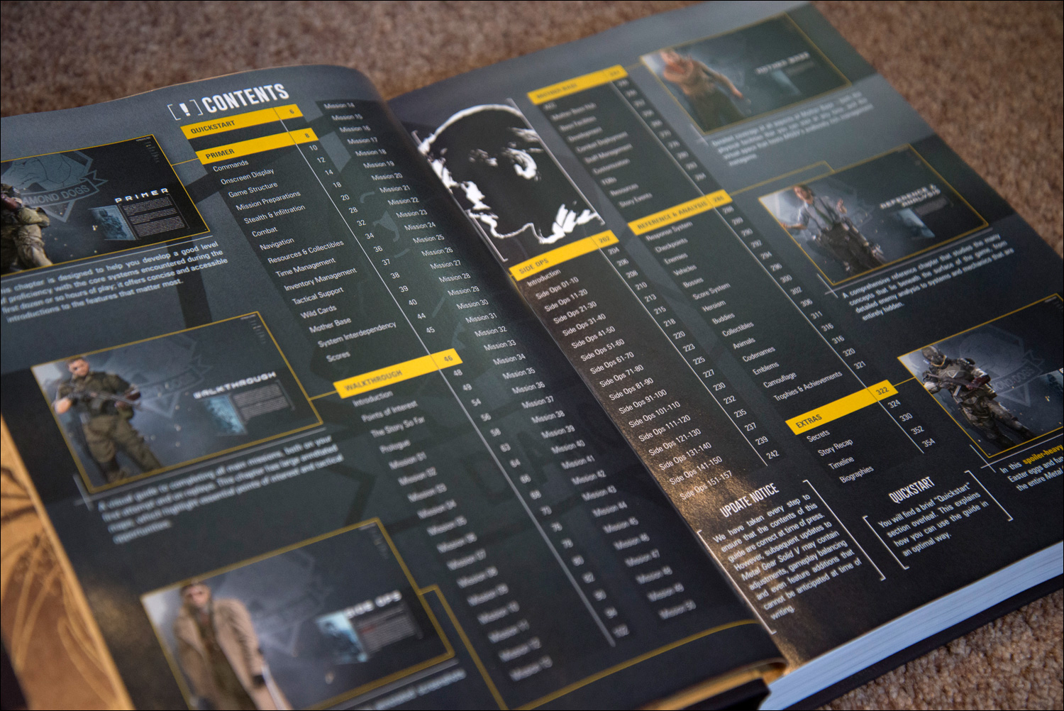 Metal-Gear-Solid-V-The-Phantom-Pain-Collector's-Edition-Guide-Contents