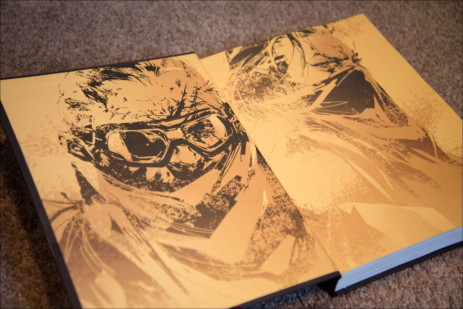 Metal-Gear-Solid-V-The-Phantom-Pain-Collector's-Edition-Guide-Cover-Front-End-Paper