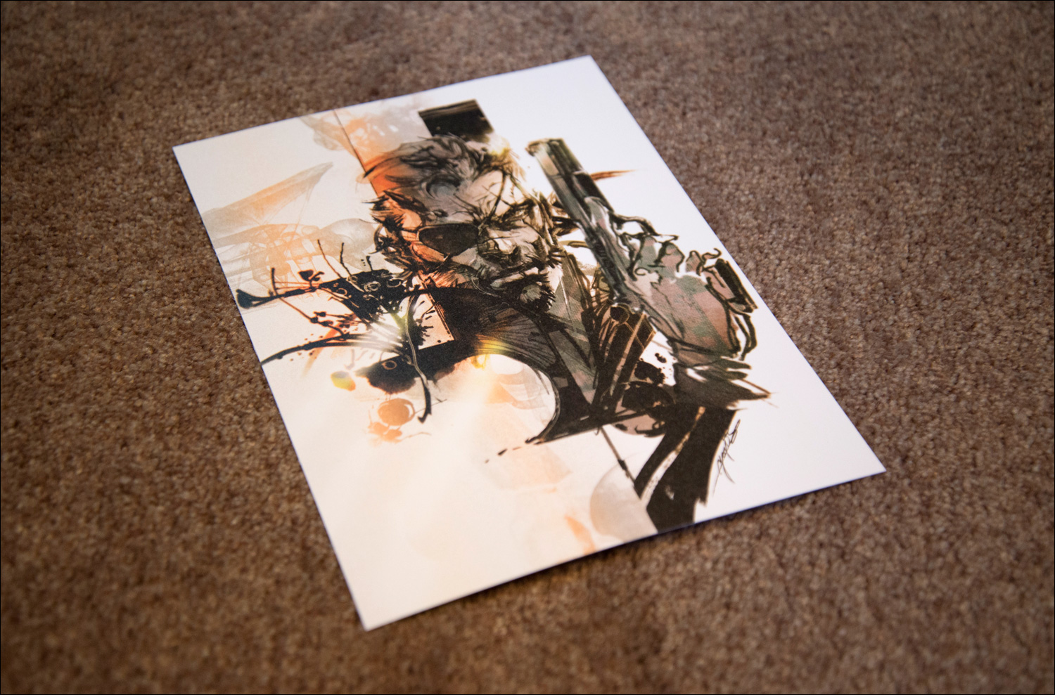 Metal-Gear-Solid-V-The-Phantom-Pain-Collector's-Edition-Guide-Lithograph-1