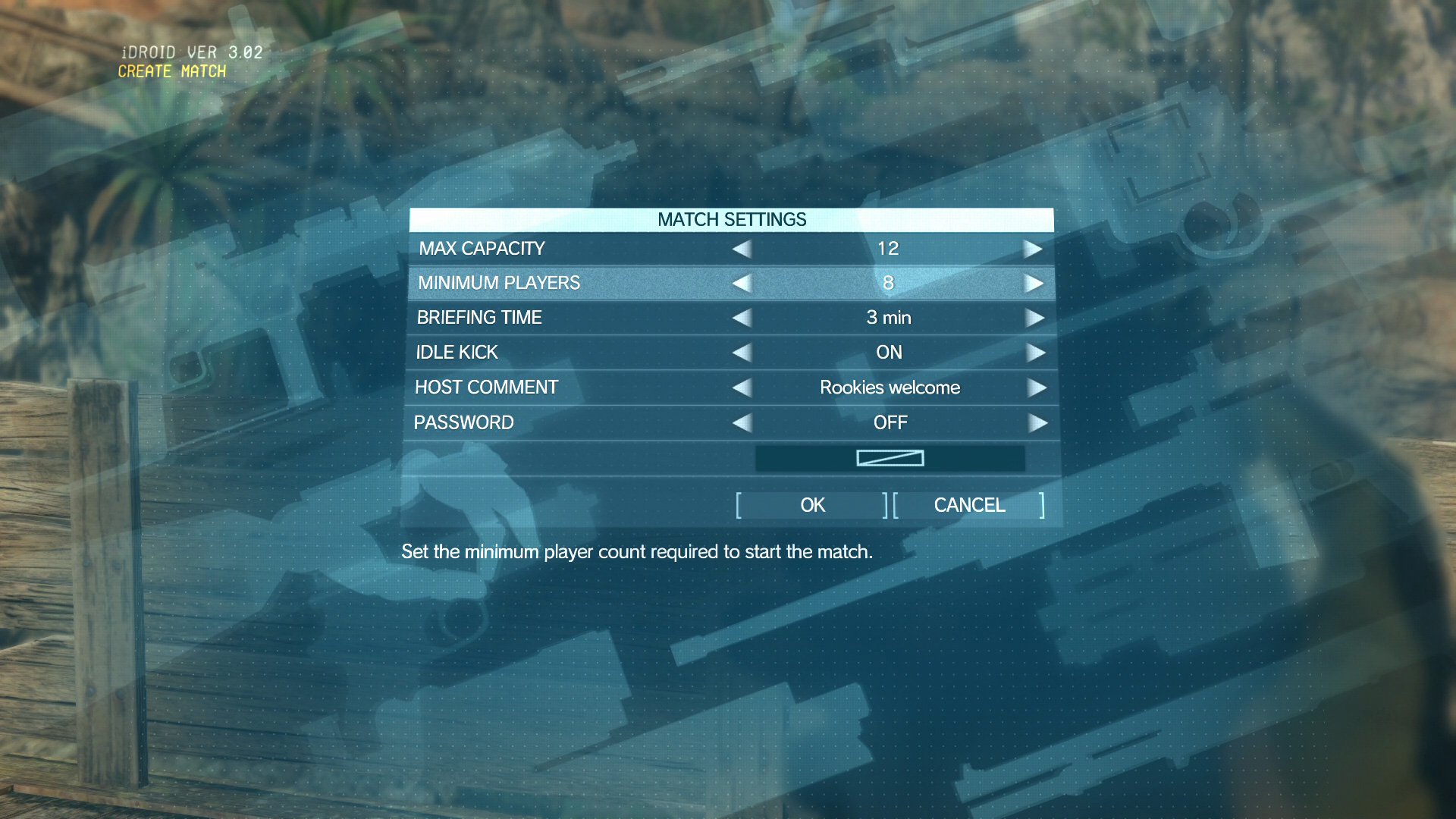 Metal-Gear-Online-Settings-Minimum-Players