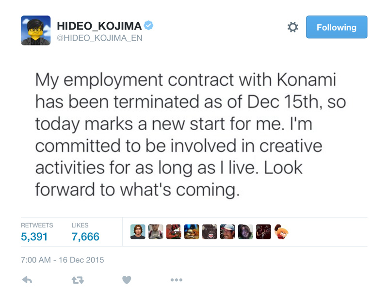 Kojima-Konami-Contract-Terminated