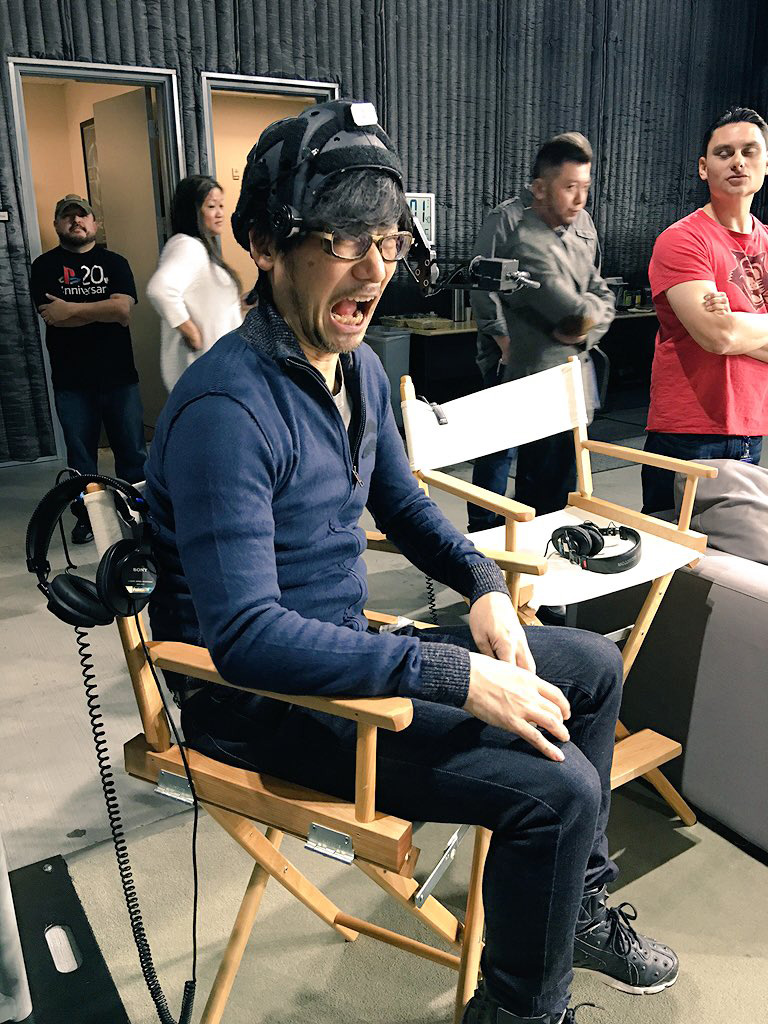 Hideo-Kojima-Checking-Performance-Tech-6