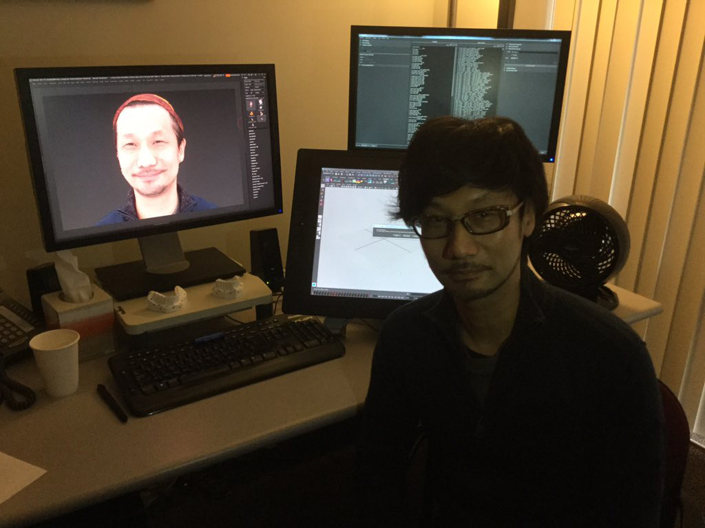 Hideo-Kojima-Checking-Performance-Tech-7