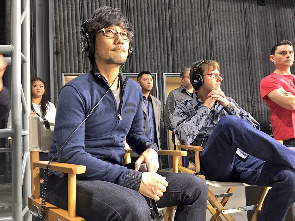 Hideo-Kojima-Checking-Performance-Tech-9