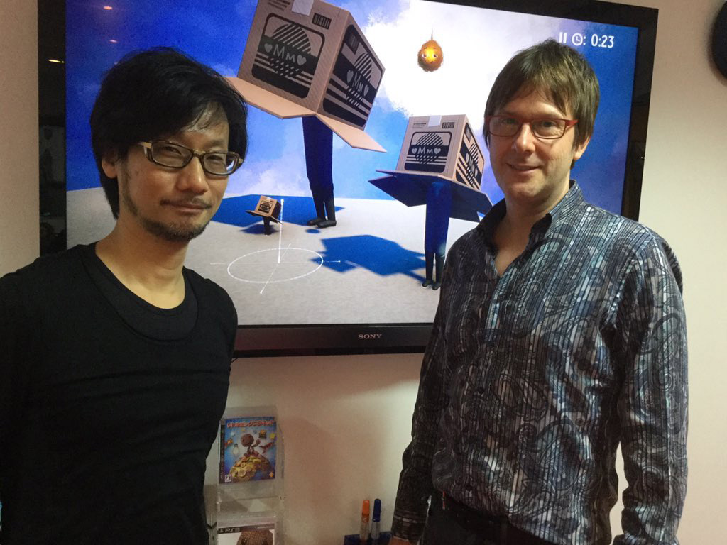 """Checking out Media Molecule's character creation tools with HK"" - Mark Cerny"