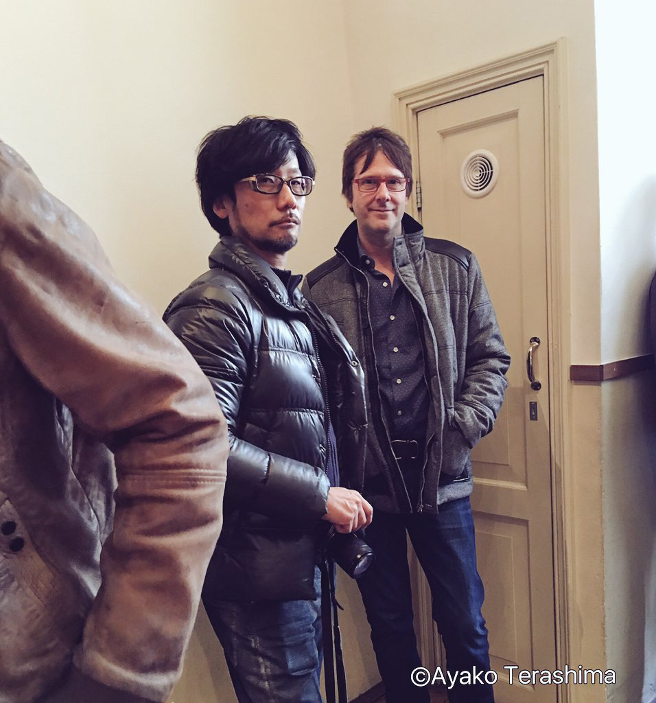 """Mark Cerny & Hideo Kojima in Amsterdam."" - Ayako"