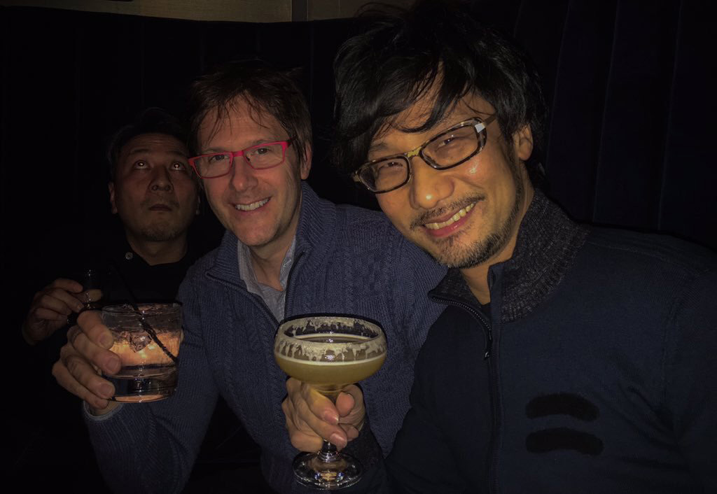 Kojima-and-Cerny-Tech-Tour-Drinking.jpg