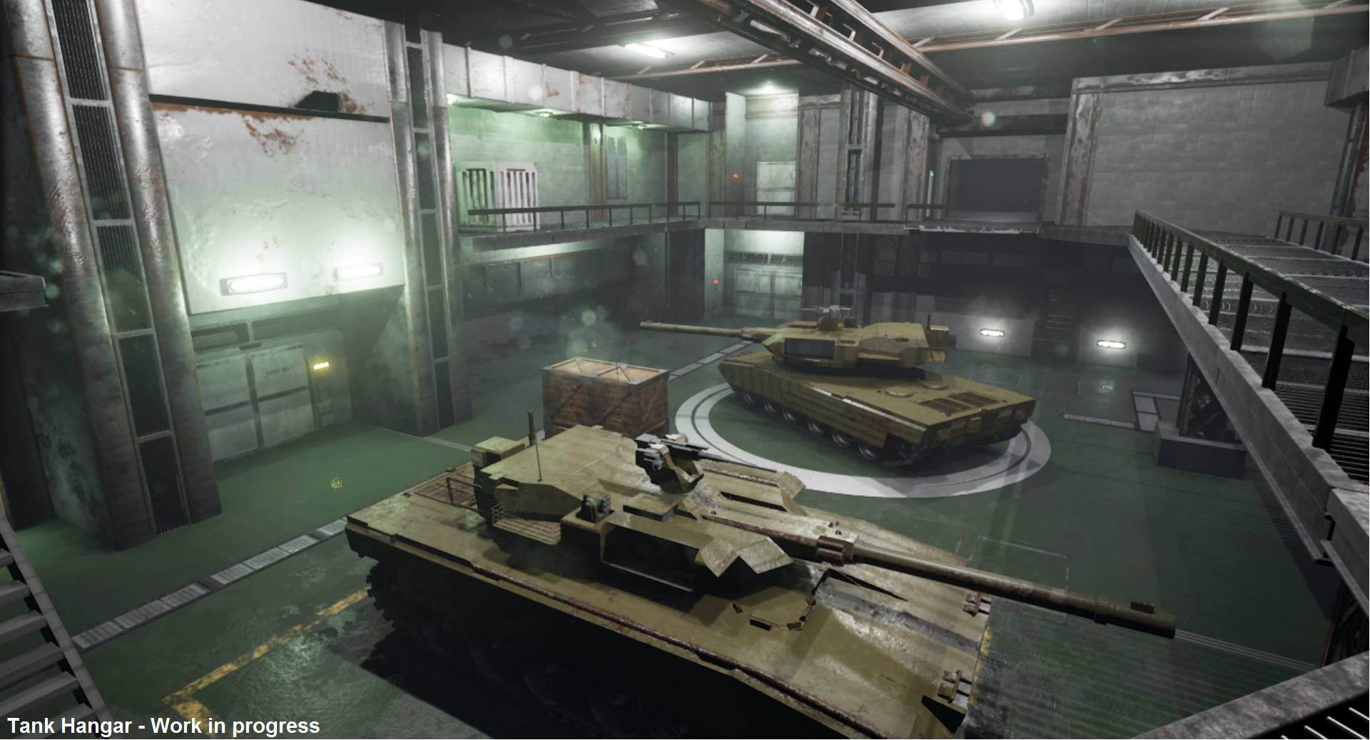 MGS-Fan-Remake-Tank-Hangar