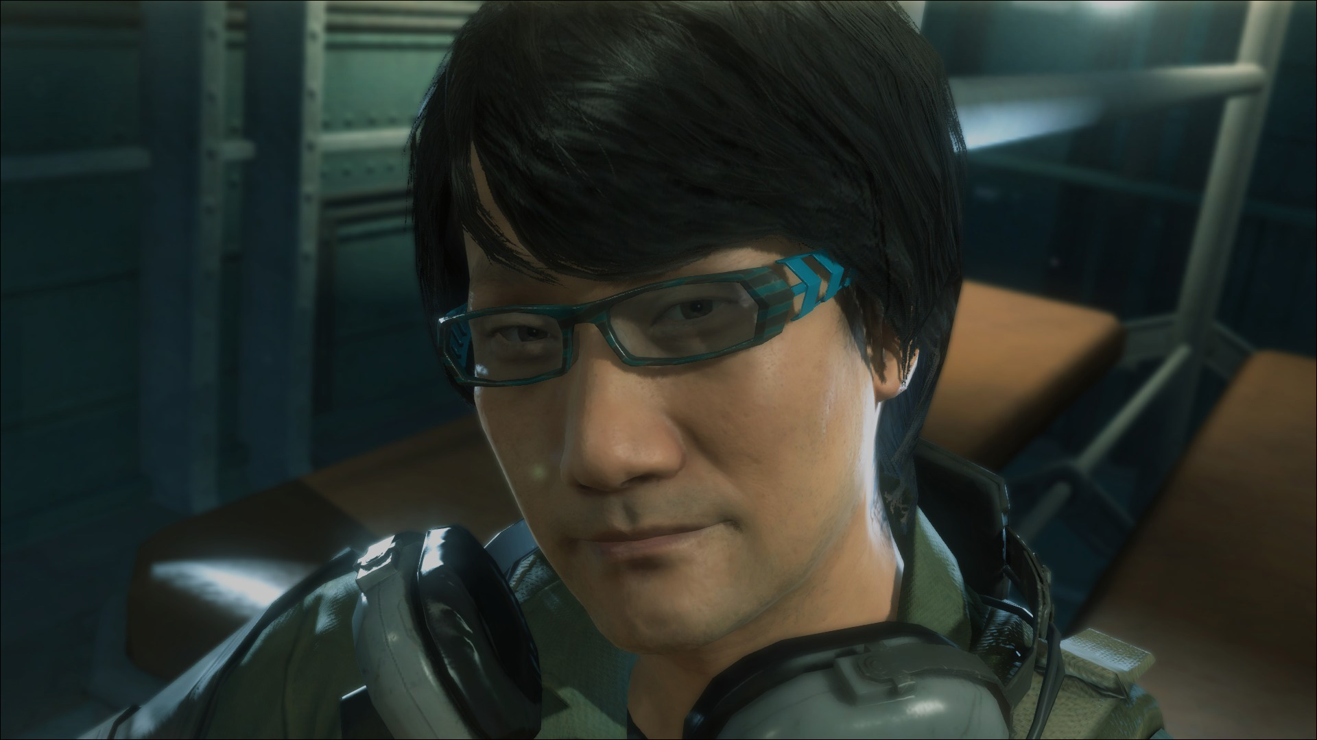 MGSV-Ground-Zeroes-Hideo-Kojima-Cameo