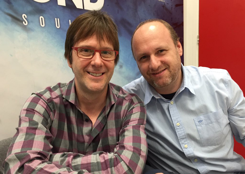 """At Quantic Dream for final stop of HK tour. Big welcome from David Cage, my favorite auteur!"" - Mark Cerny"