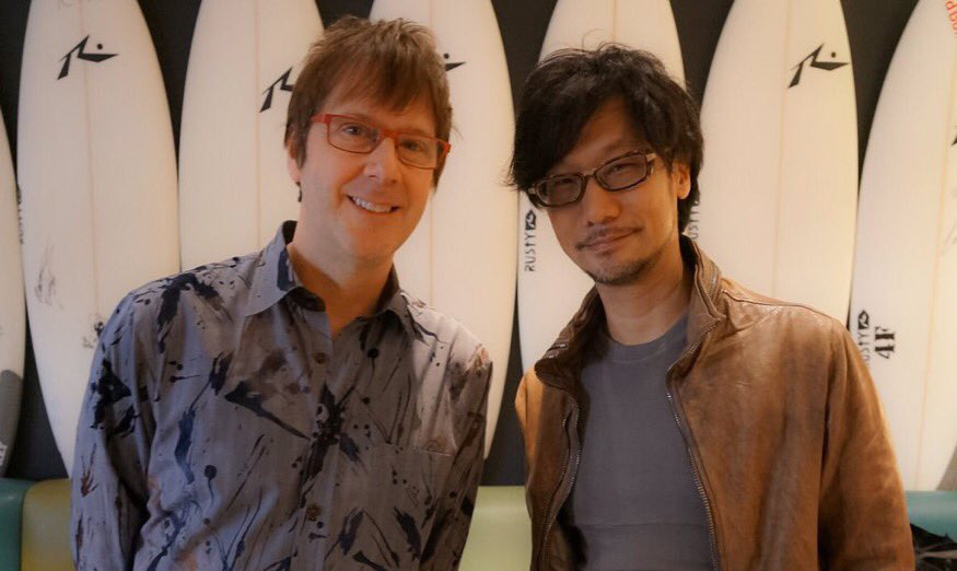 Hideo Kojima and Mark Cerny, January 2016