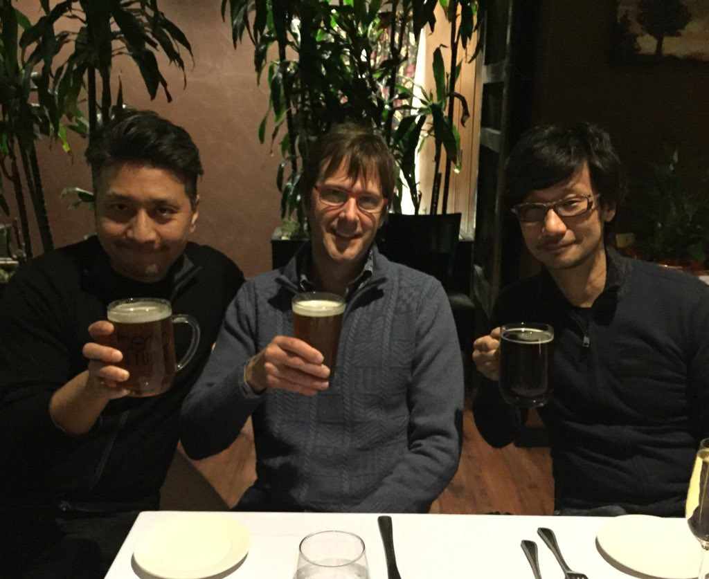 """Recovering - with local beer - after a 276 SLIDE (!) PowerPoint presentation. Thank you Sony Bend..."" Mark Cerny"