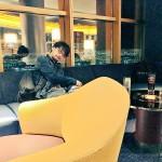 """""""Hideo Kojima in Vegas today."""" - Ayako"""