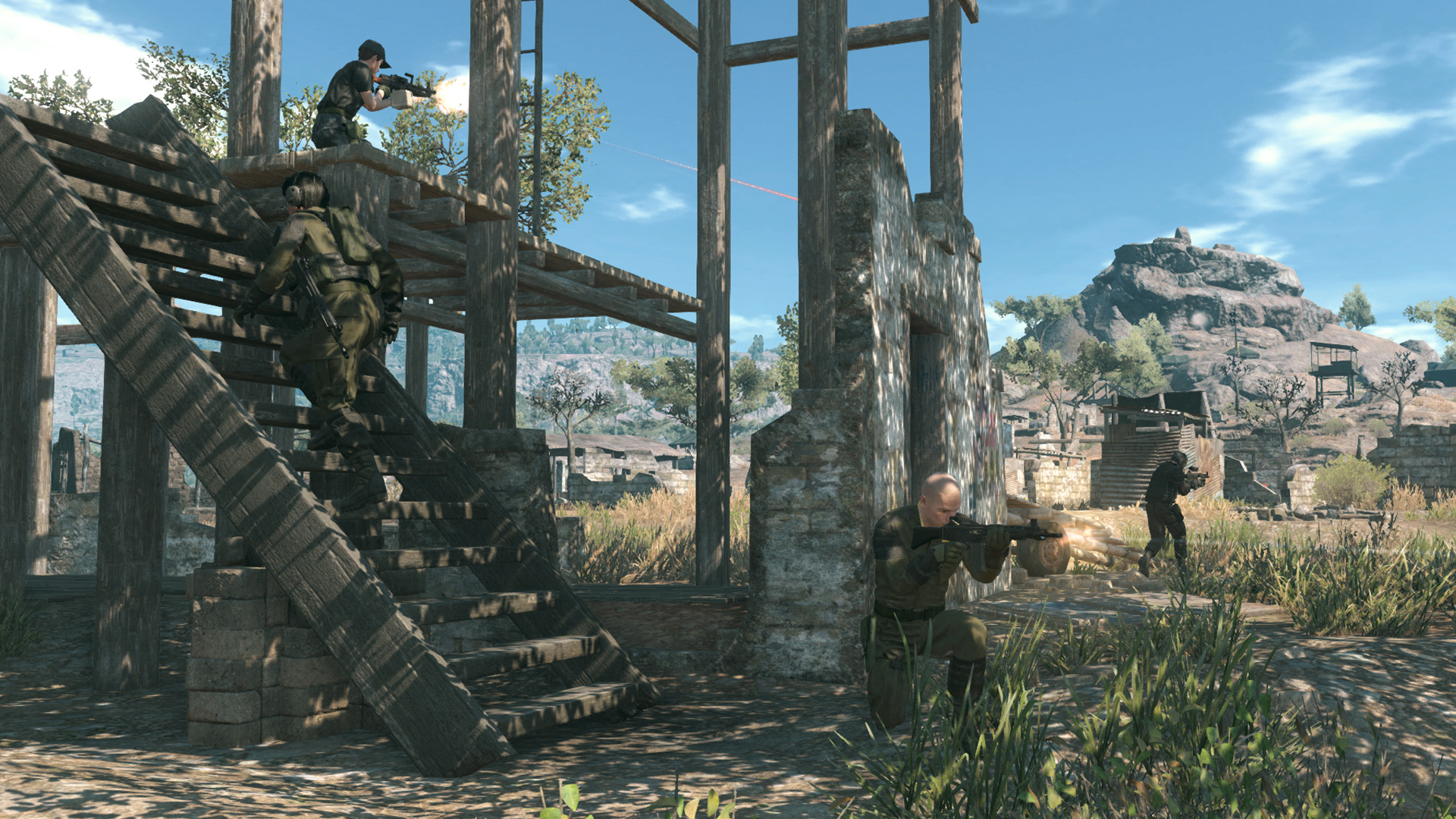 Metal-Gear-Online-Azure-Mountain-6