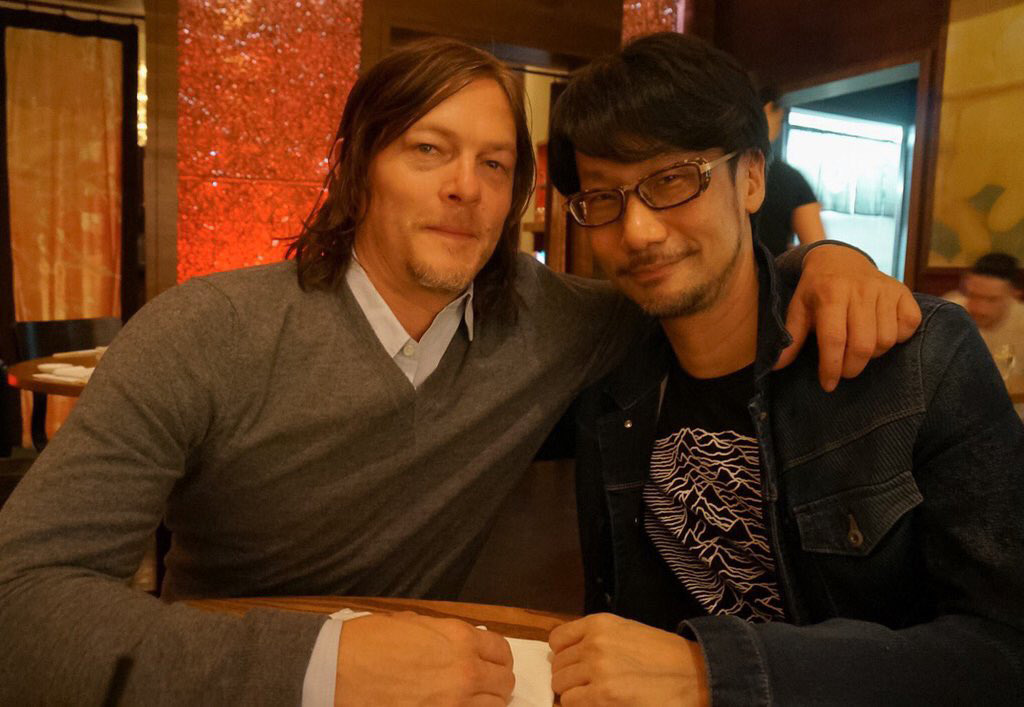 """""Reunion with Norman Reedus. Giving update about my own company."""