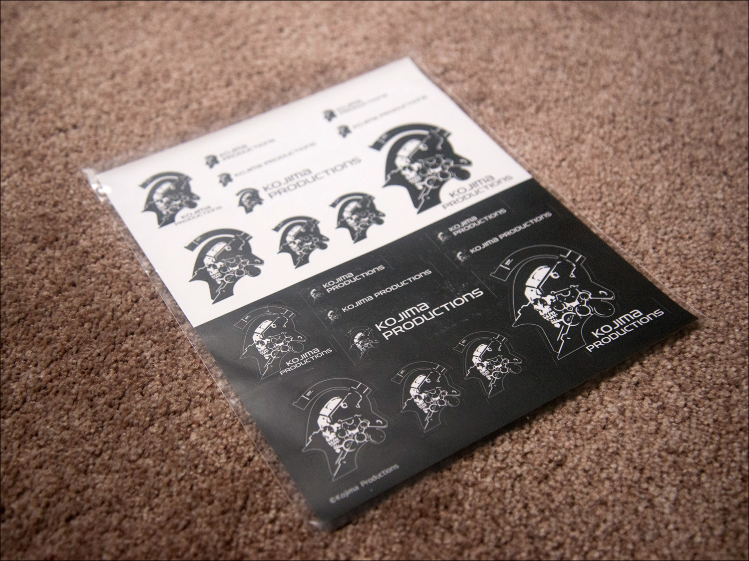 Kojima-Productions-Goods-Set-Stickers