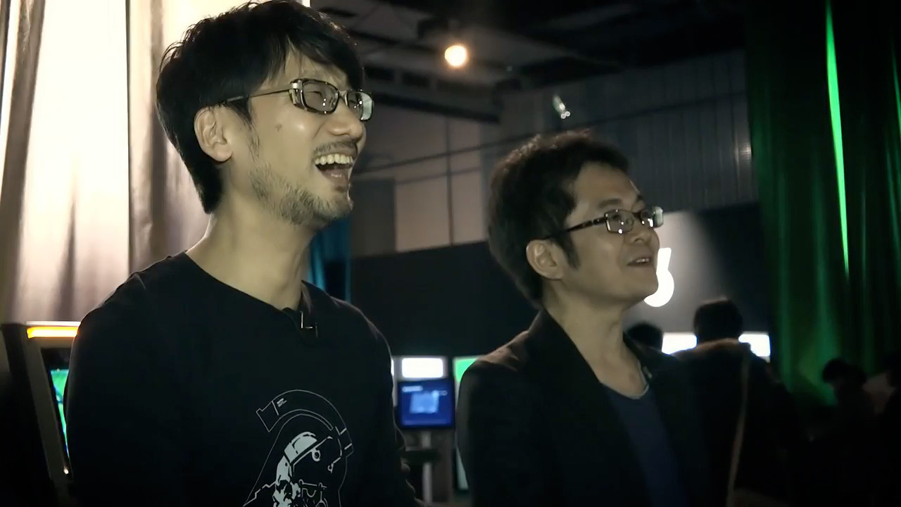 Kojima literally laughing out loud at how bad Yano is (Pong)