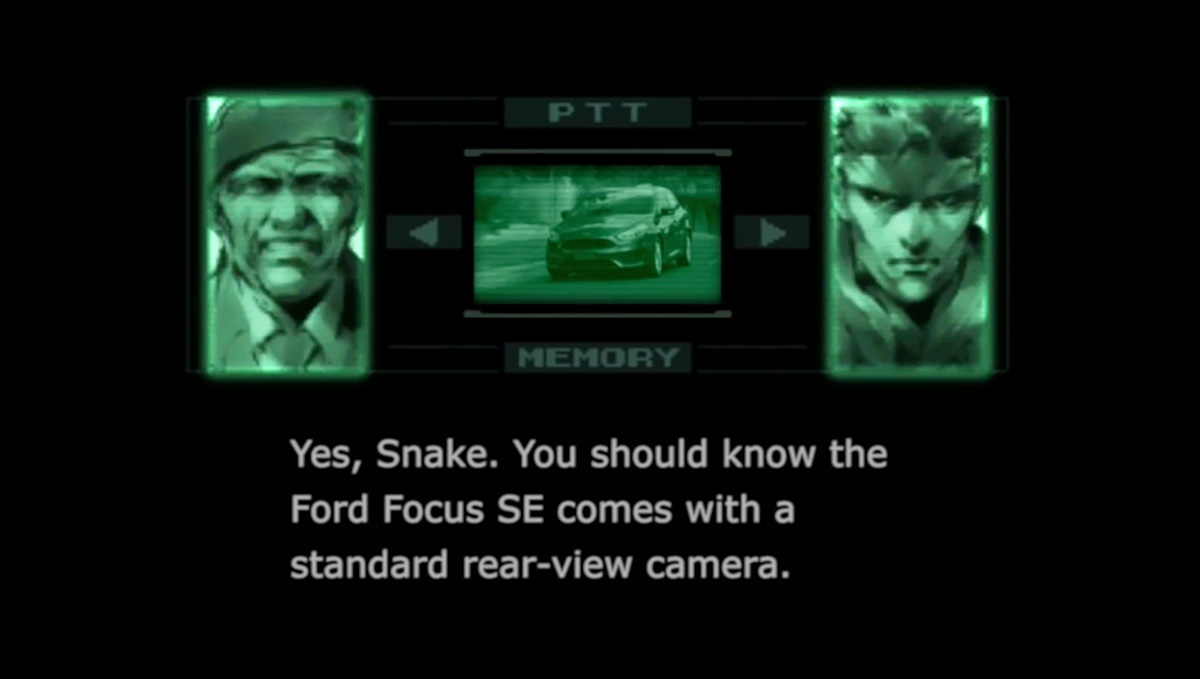 solid snake  colonel campbell and psycho mantis star in metal gear solid themed ford ads  u2013 metal