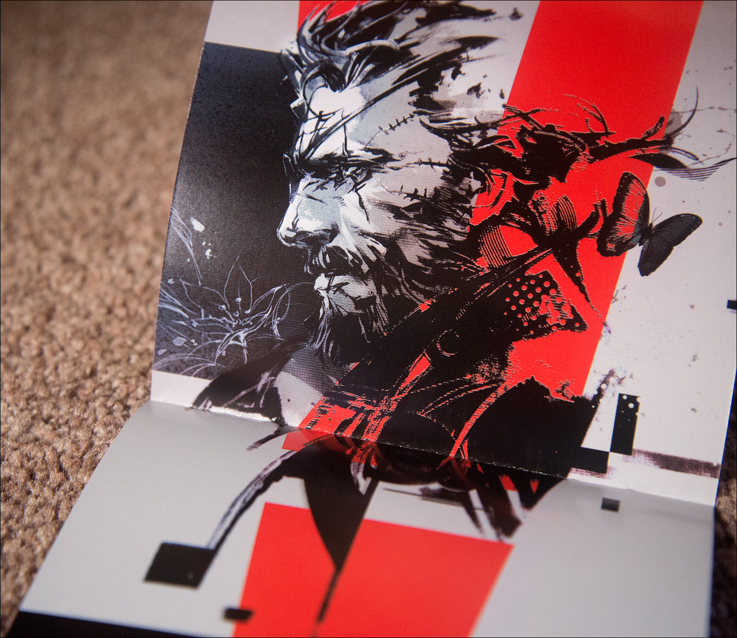 Metal-Gear-Solid-V-The-Lost-Tapes-Booklet-Venom-Snake-Art-Shinkawa