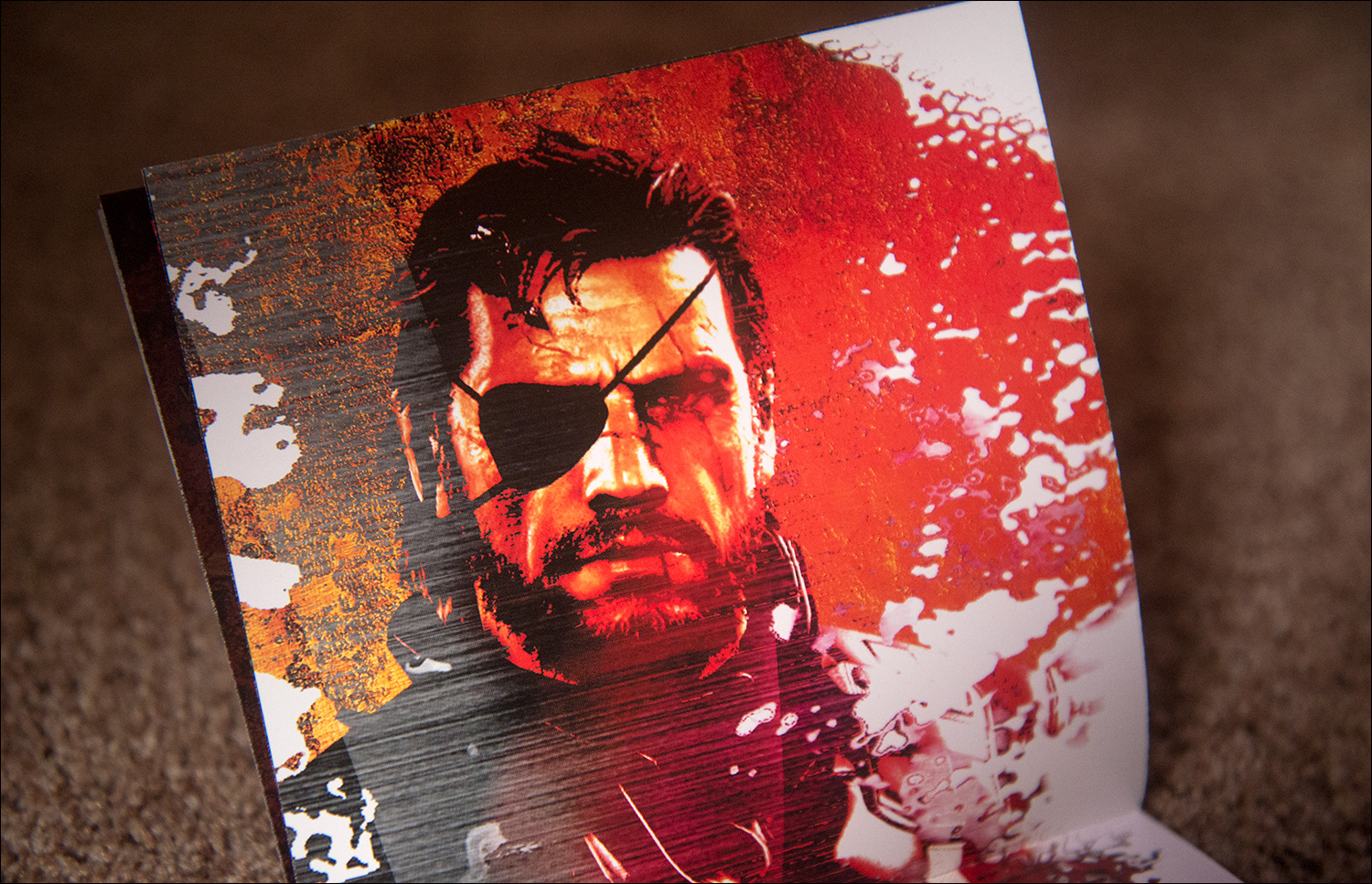 Metal-Gear-Solid-V-The-Lost-Tapes-Booklet-Venom-Snake-Art