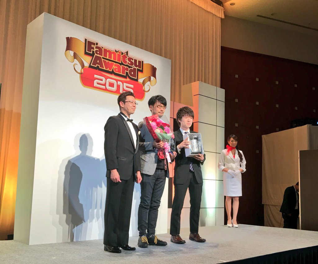 """Hideo Kojima won ""MVP award"" at Famitsu awards! Congrats boss!"" - Ken Imaizumi"