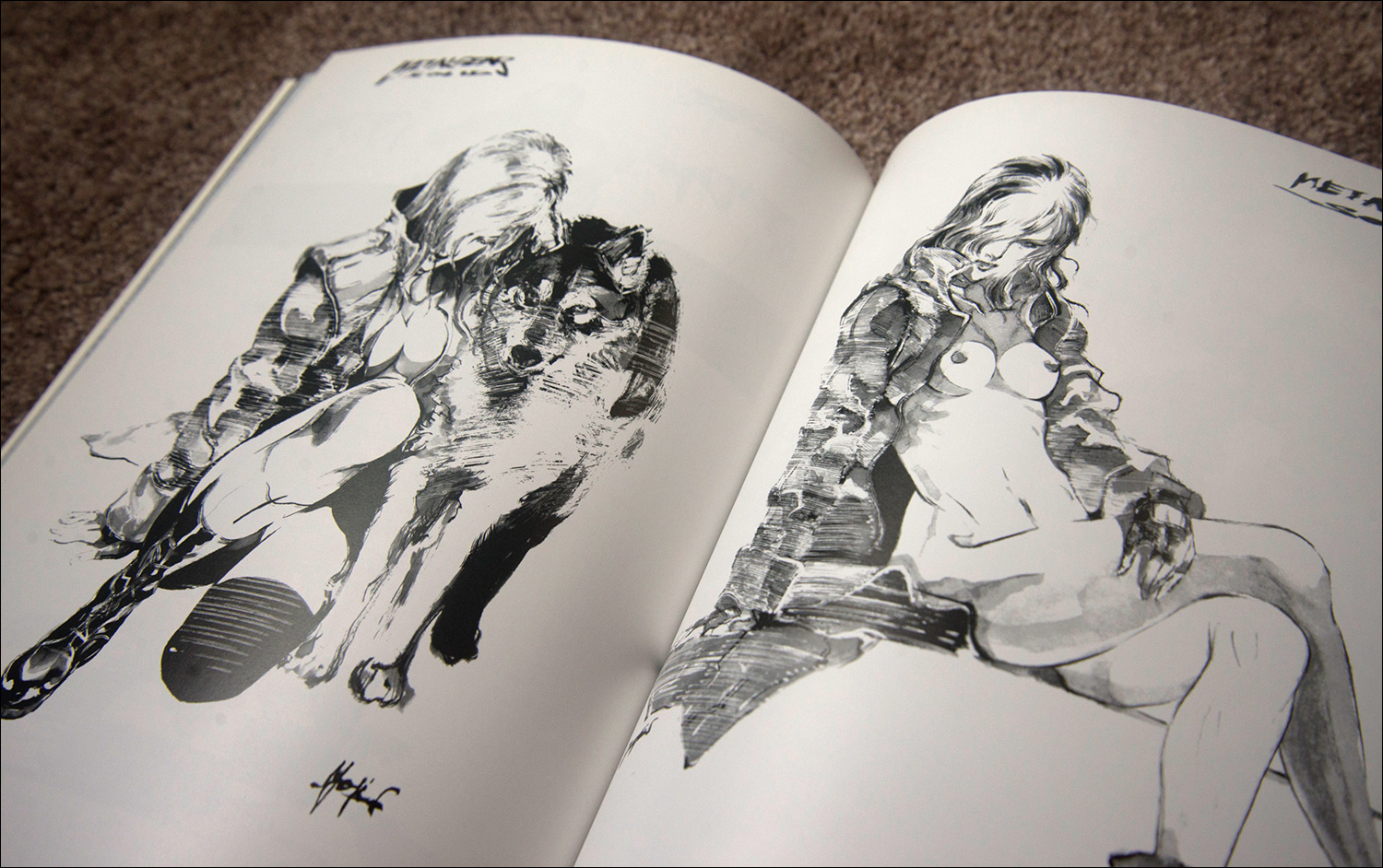 close up the art of metal gear solid book metal gear informer