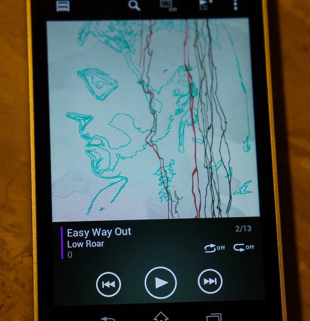 """Listening this as I can't sleep.LOW ROAR's album ""0"". I'll Keep Coming is amazing song but also like EASY WAY OUT."""