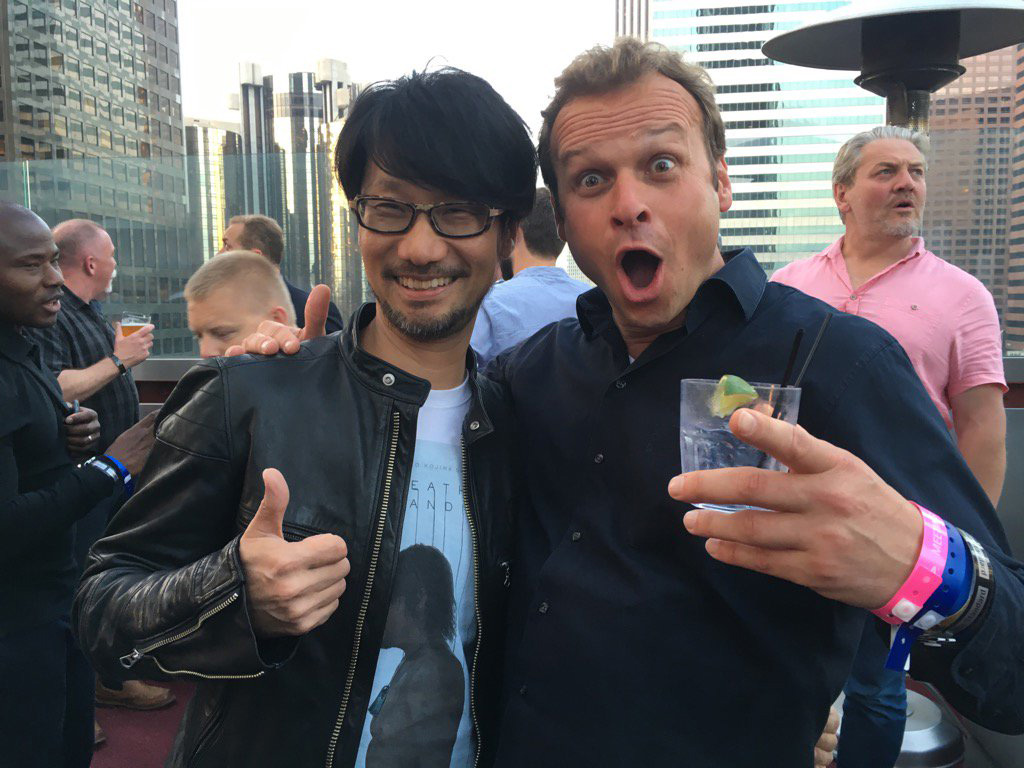"""Catching up with old friends at #e32016"" - Hermen Hulst"