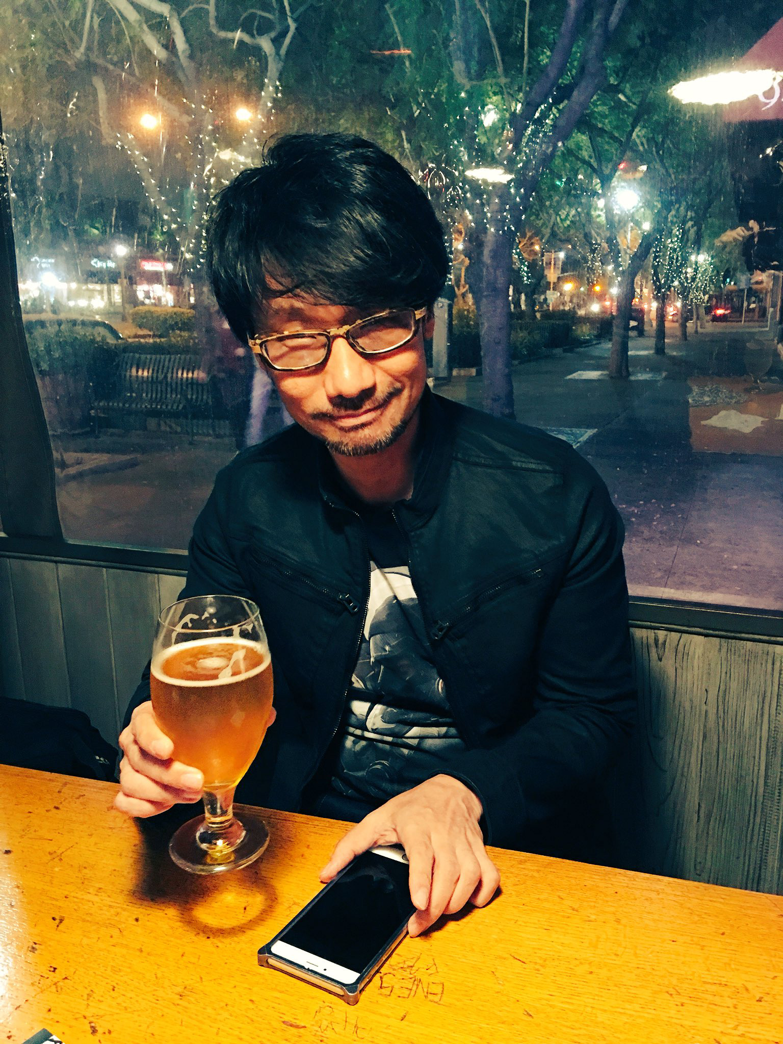 """""""Hideo Kojima!today!"""" - Ayako"""