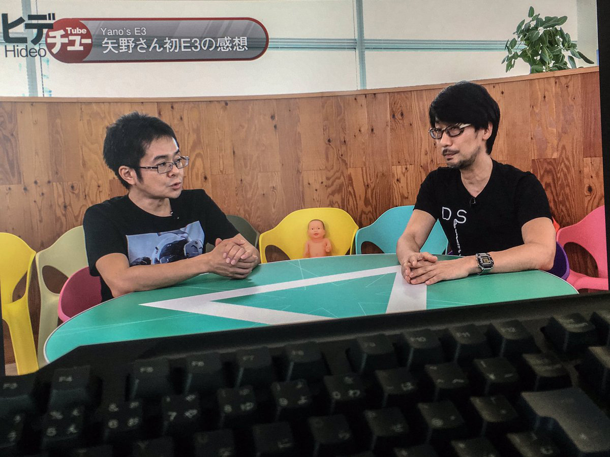 """We are working on the 4th episode of HideoTube.... making effort...."" - Kojima Twitter"