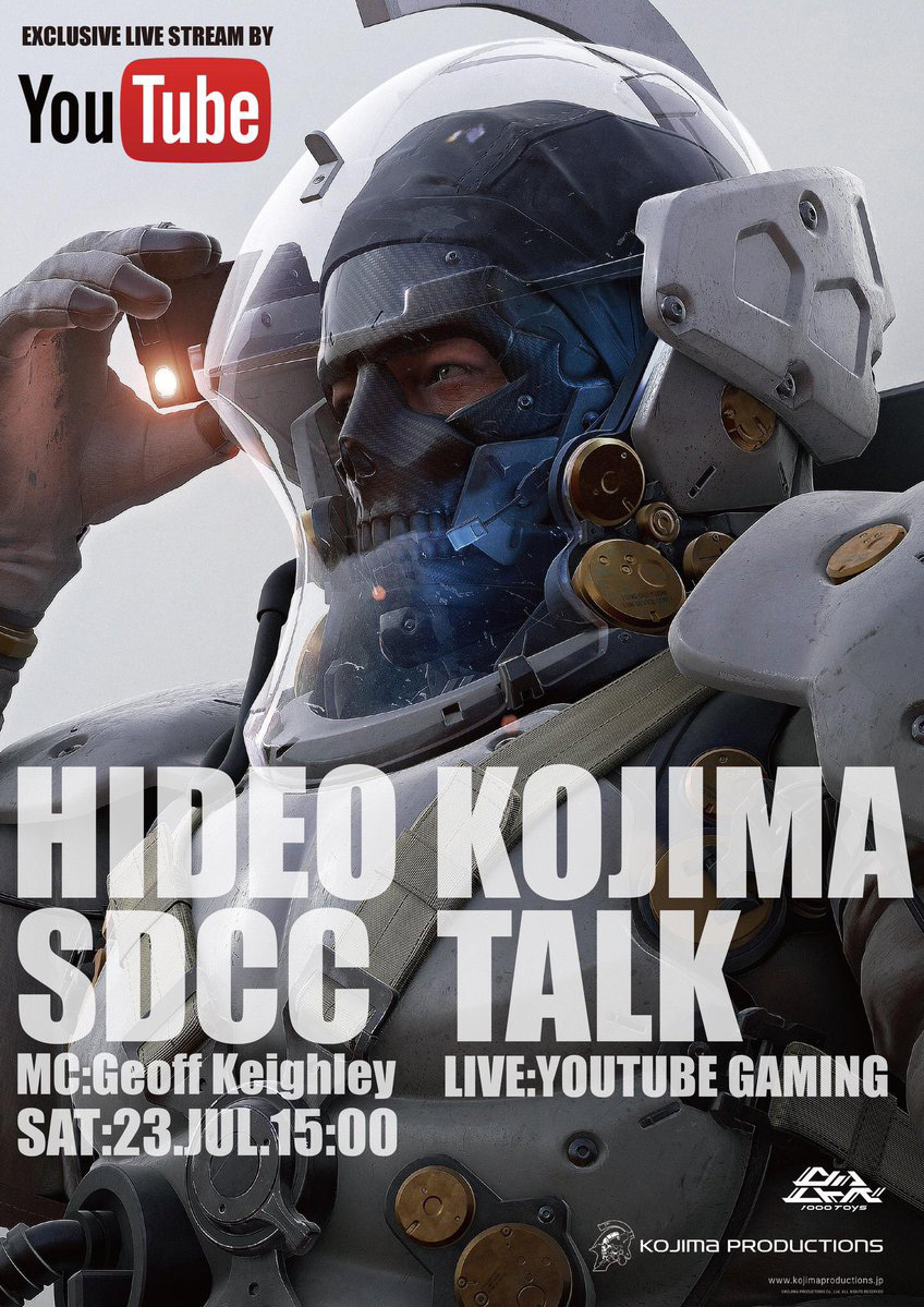 Kojima-SDCC-Talk