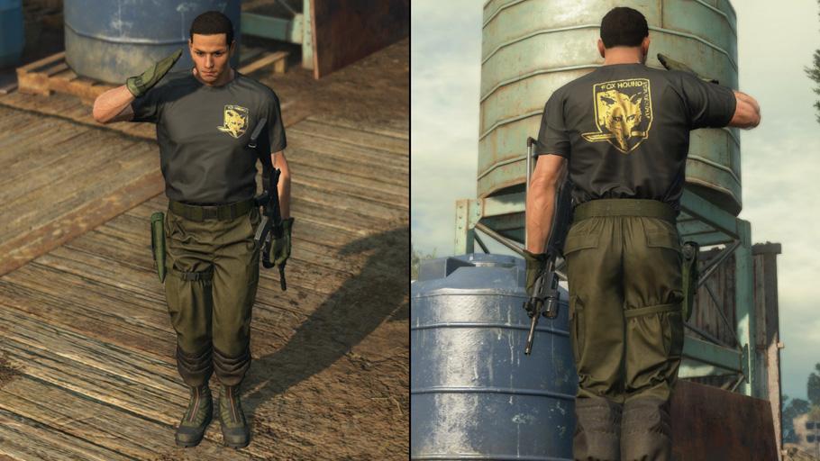 Metal-Gear-Online-FOXHOUND-Title-T-Shirt