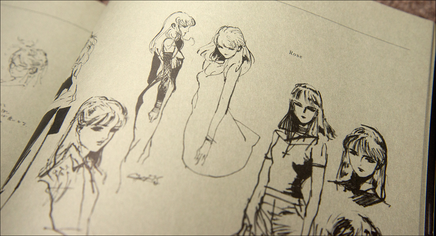 The-Art-of-Metal-Gear-Solid-2-Rose-Sketches