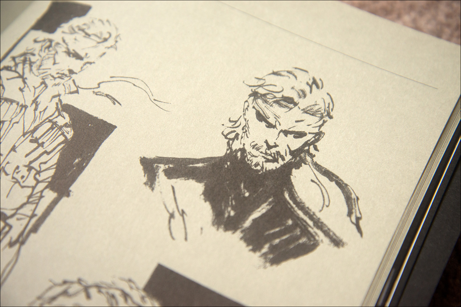 The-Art-of-Metal-Gear-Solid-2-Snake-Sketch