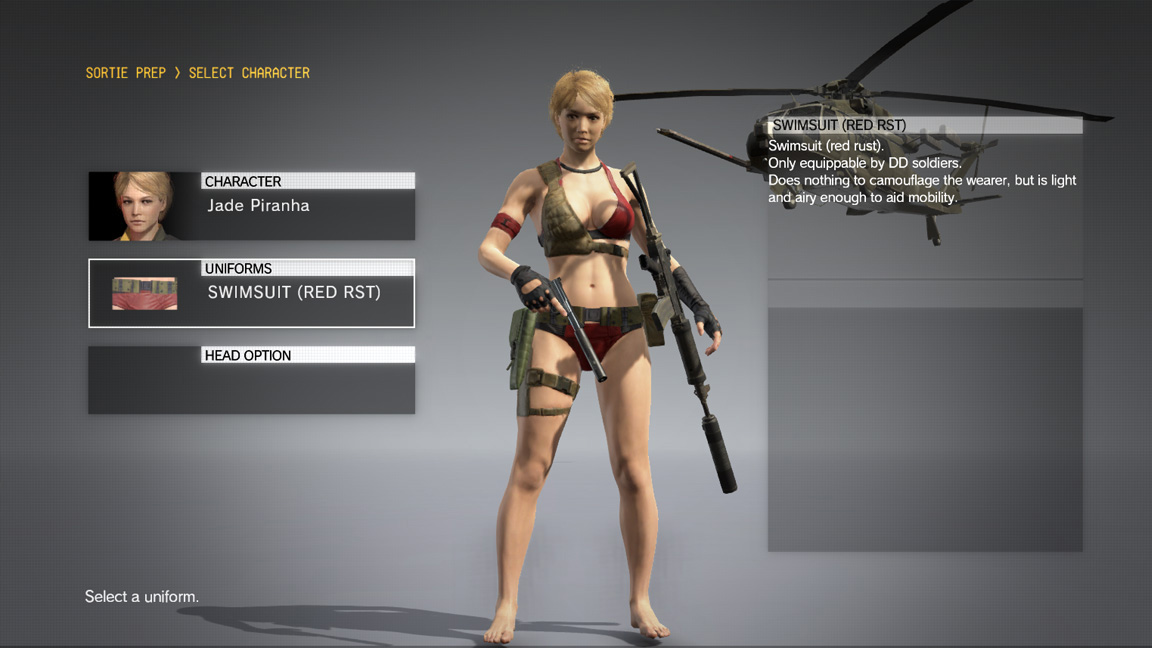 Have Your Fob Staff Wear Swimsuits With New Mgsv Update